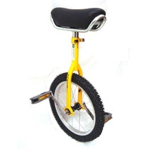 Monociclo Bike 1 Roda - Bicicleta De Circo Aro 16 Reforçado