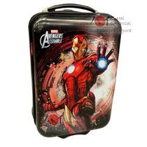 Mala Viagem Rigida Infantil - Homem De Ferro - Vingadores