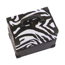 Maleta Para Maquiagem Zebra - Rytop Ry Top