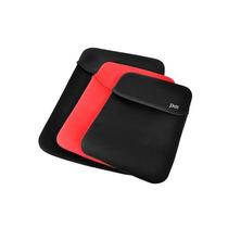 Case Notebook Neoprene 15 Polegada Preto/vermelho Dupla Face