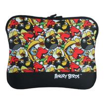 Case Capa Porta Ipad Tablet 14 Santino Angry Birds Neoprene
