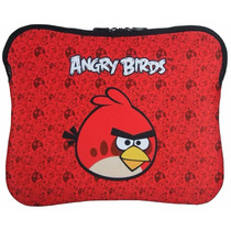 Case Capa P/ Notebook Laptop Angry Birds 10 A 14 Polegadas