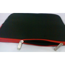 Capa Para Notebook 14 Polegadas - Preto E Vermelho