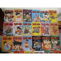 Coleção Completa Com 83 Mangá Dragon Ball E Dragon Ball Z