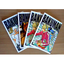 Bakuman Mangá Jbc Vários Números Novos! Autores Death Note!