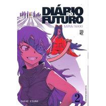 Diário Do Futuro - Mirai Nikki - Nao Temos Todos Volumes!