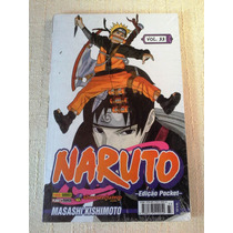 Naruto Pocket Nº 33 - Novo E Lacrado!!! ( Baú Comic Shop)