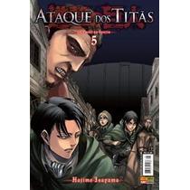 Shingeki No Kyojin: Ataque Dos Titãs #5 - Disponíveis Todos