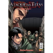Shingeki No Kyojin: Ataque Dos Titãs # 5 Mangá Novo Lacrado