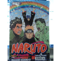 Hq-manga:naruto-vol.54-masashi Kishimoto-edição Pocket-novo