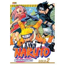 Naruto Mangá Gold #2 Panini - Tuneu Games