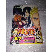 Livro/mangá Naruto Gaiden Importado Do Japão