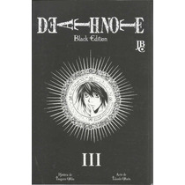 Death Note Black Edition 03 - Jbc - Gibiteria Bonellihq
