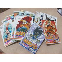 Naruto Manga Diversos Numeros Otimo Estado