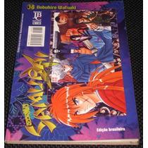Mangá Samurai X Nº 38 - Editora Jbc - Novo
