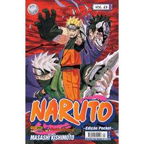 Naruto Pocket Mangá #63 Panini- Tuneu Games
