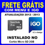 Atualização Gps No Micro Sd 2gb - Igo 8.3 E Igo Amigo + Menu