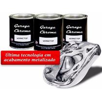 Verniz Top 900ml Catalizador Metalização Cromagem Top Coat