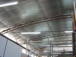 Manta termica dupla face para telhado