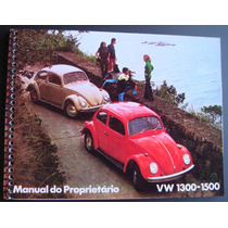 Manual Fusca 1972 - Frete Grátis -