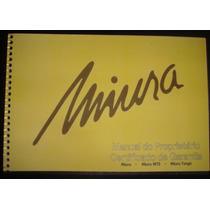 Manual Miura - Mts - Targa - 1983 - Frete Grátis -