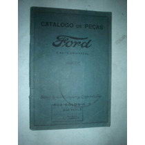 Catalogo Peças Ford Modelo T 1927 Original Carros Caminhões