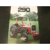Brochura Original Trator Massey Ferguson 290