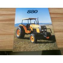 Brochura Original Trator Valmet 880 Catálogo