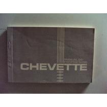 Manual Do Proprietário Chevette - 1985