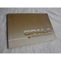 Manual Opala Caravan 1988 Zero Nunca Prenchido Em Branco