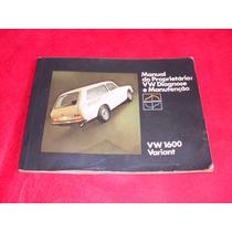 Variant 1974 Manual Do Proprietario Original