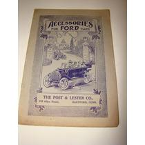 Ford 1914 - Acessórios Para Os Carros Ford