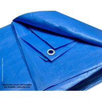 Lona 5 X 4 Azul Plastica Impermeavel Carros Festa Telhado