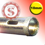 Brocas Para Vidro Diamantada 10mm Serra Copo Artesanato