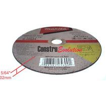 Disco De Cortar Aço Inox Makita 7 Pol 180mm P Serra Circular