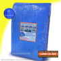 Lona Azul 8x6 Cobertura Reforçada Telhado Piscina 300 Micra