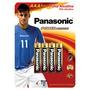 Pilha Panasonic Alcal.palito Aaac4-ct
