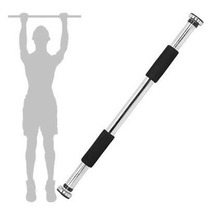 Barra Aco Ombros Bracos Costas Biceps Regulavel Porta Movel