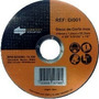 200 X Disco Corte Extra Fino Inox 4.3/8 X 1,00mm X 22,2mm