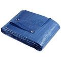 Lona Plastica Imperm. Azul Brasfort Com Ilhoes De Metal 6x4