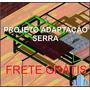 Adaptação Serra Ferrari Scm-10 P/ Esquadrejadeira - Projeto