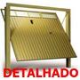 Projeto - Portão Basculante, Dobradeira De Chapa E De Tubos