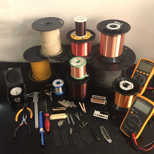 Manutenção Conserto Captador Guitarra Baixo ( Rebobinar )