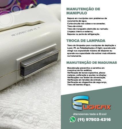 Manutenção Reparo Aparelho Máquina Ipl Luz Pulsada Fotodepil