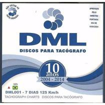 Disco Tacógrafo Semanal 125 Km