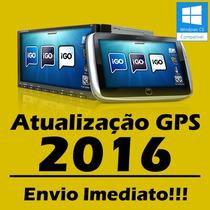 Cartão 8gb Atualização Gps Igo Radares E Mapas 2015 A 2016