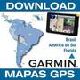 Mapas Garmin 2017.10 Brasil+ Amér Do Sul+ Flórida + Radares
