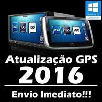 Atualização Gps 2016 3 Navegadores Igo8 Amigo Primo #ues9