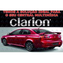 Navegador Clarion Mobile 2015 Central Multimídia Nx-602 Mit