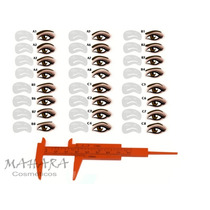 Kit Sobrancelhas Completo Com Paquímetro + 24 Moldes